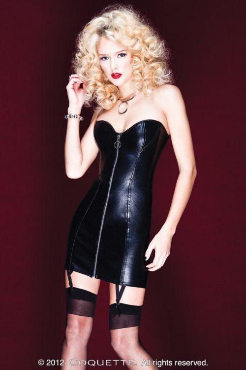 c D9258img.php  500x750 - Платье из кожзама утягивающее