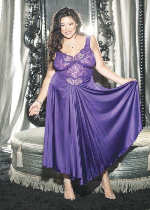 X3585 img.php  500x700 - Длинное ночное платье