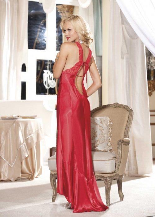 20530 img.php  500x700 - Длинное ночное платье с кружевным лифом