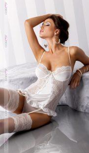 blanchetwhite1 181x312 - Сорочка BLANCHET cream Casmir