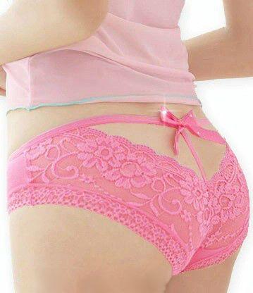 Trusiki 7593 3 - Классические трусики, розовые