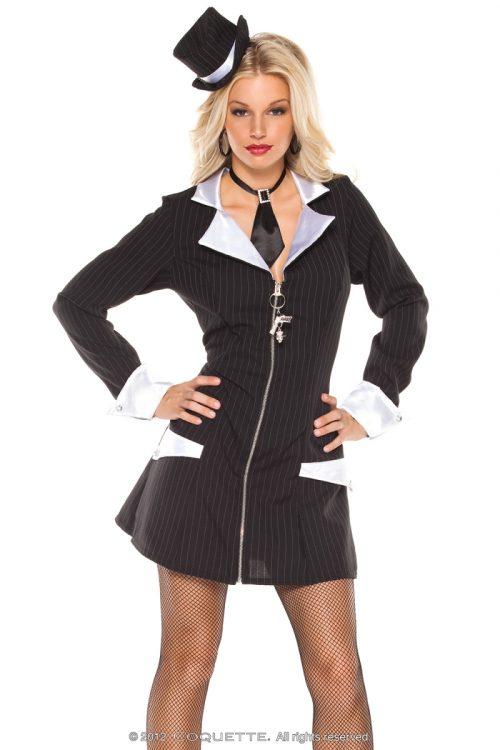 c M61241 500x750 - Игровой костюм гангстерши+колготы
