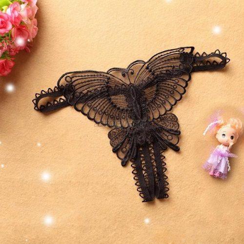 012 111 500x500 - Трусики с бабочкой и разрезом между ног