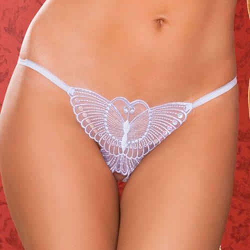 012 2 500x500 - Трусики с бабочкой и разрезом между ног