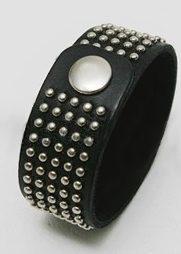 """50 1040  5  181x254 - Эротичный кожаный браслет с заклепками в стиле """"панк"""""""