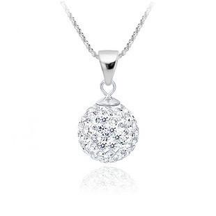 Shamballa Necklaces - Ожерелье с кристаллами