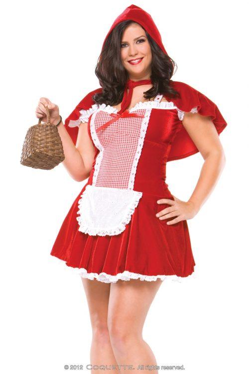 c M6111plus 500x750 - Аппетитная красная шапочка игровой костюм