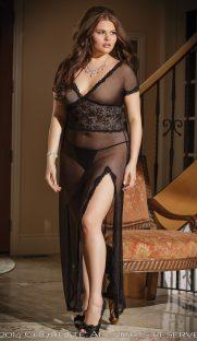 c 1431plus 181x312 - Великолепное сетчатое платье большого размера