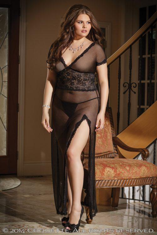 c 1431plus 500x750 - Великолепное сетчатое платье большого размера
