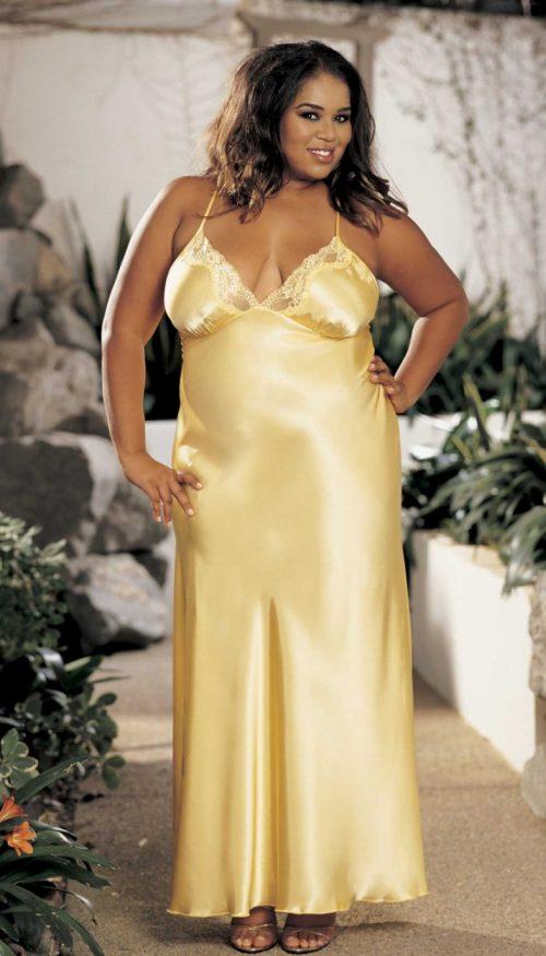 X20300 1111 500x875 - Длинное платье из шармеза большого размера