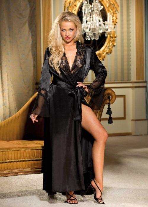 20559 11 500x701 - Элегантный и сексуальный домашний халат