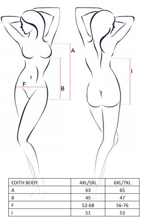 EDITH BODY size 500x750 - Боди Edith body Passion большого размера