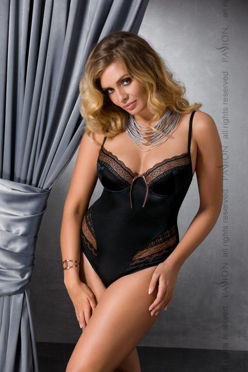 EVANE BODY black XL 500x750 - Эротичное боди EVANE BODY большого размера