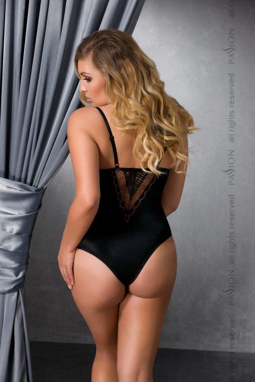 EVANE BODY black back XL 500x750 - Эротичное боди EVANE BODY большого размера