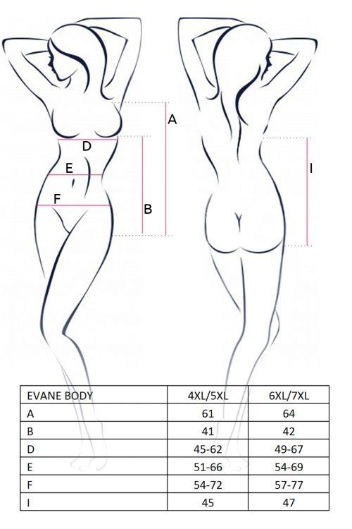 EVANE BODY size 500x750 - Эротичное боди EVANE BODY большого размера