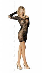 LD 79 I WANT MORE prz d 181x312 - Сетчатое платье с длинным рукавом I WANT MORE