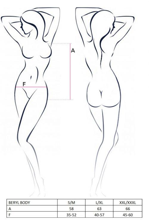 BERYL BODY  500x750 - Кокетливое боди BERYL BODY Passion Erotic Line большого размера