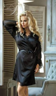 N 708 181x312 - Халат с прозрачными рукавами Excellent Beauty