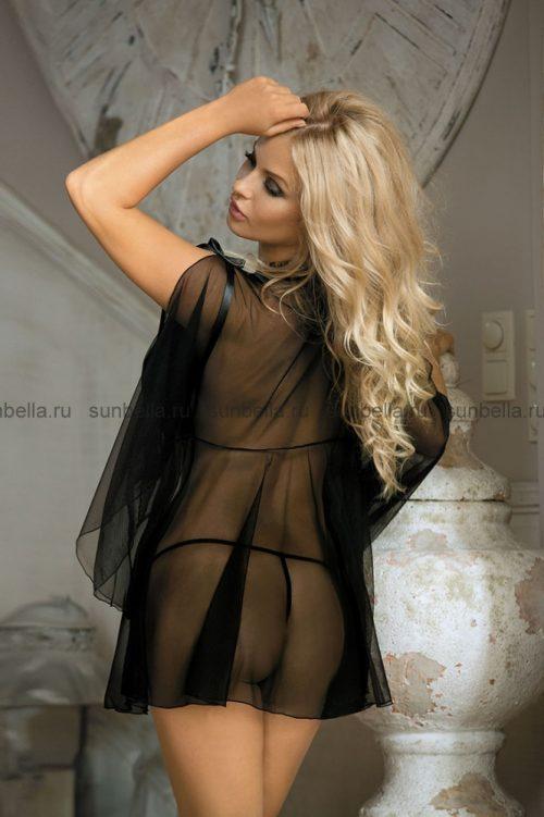 N 721  500x751 - Прозрачный халат Excellent Beauty