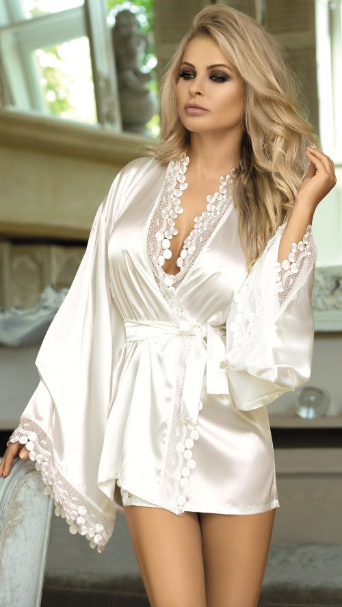 N 730 500x887 - Сатиновый халат Excellent Beauty