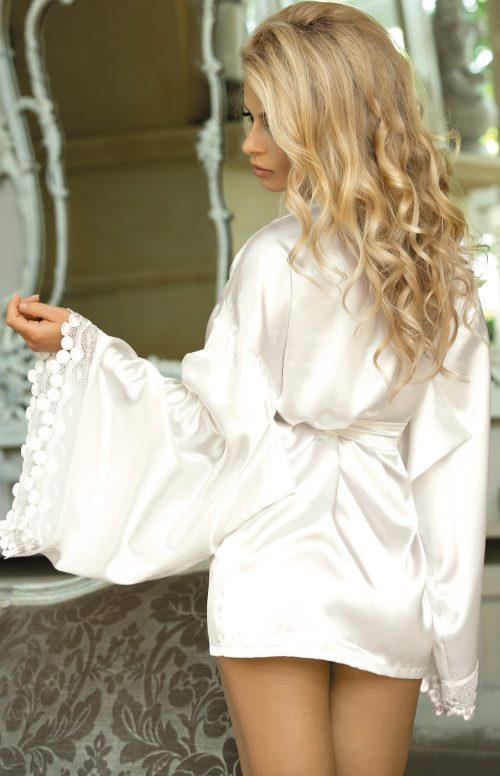 N 730  500x776 - Сатиновый халат Excellent Beauty