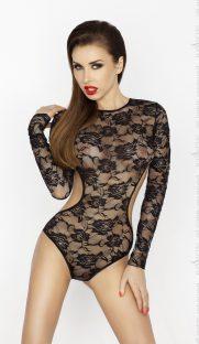 Yolanda body 181x312 - Боди с длинными рукавами YOLANDA BODY Passion большого размера