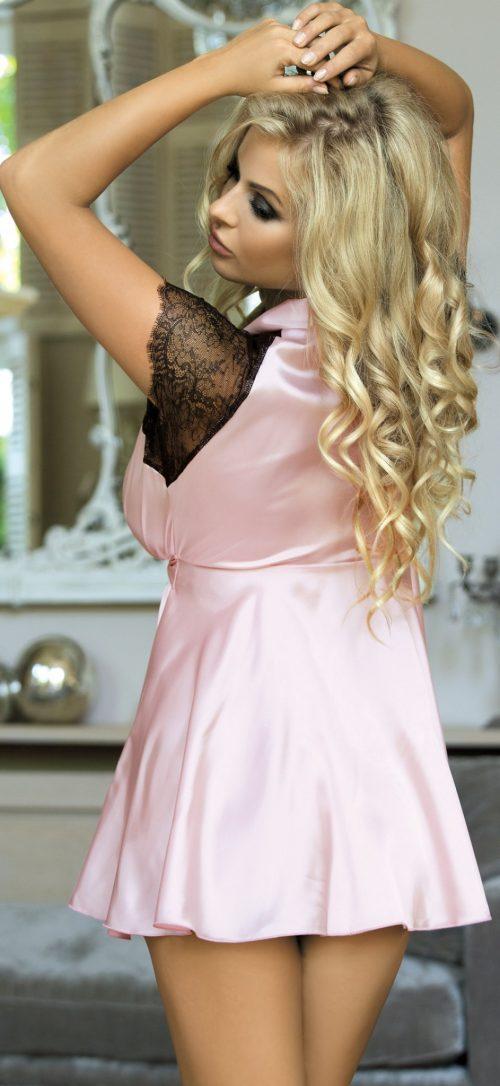 n 7091 500x1086 - Халат с коротким рукавом Excellent Beauty