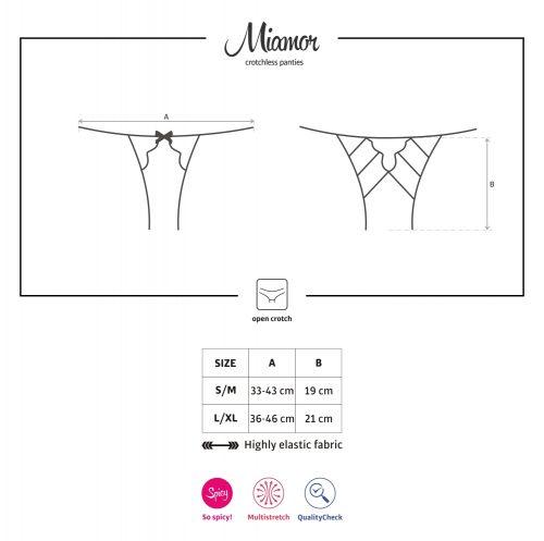 0108eng miamor crotchless panties 500x497 - Открытые трусики MIAMOR crotchless panties Obsessive
