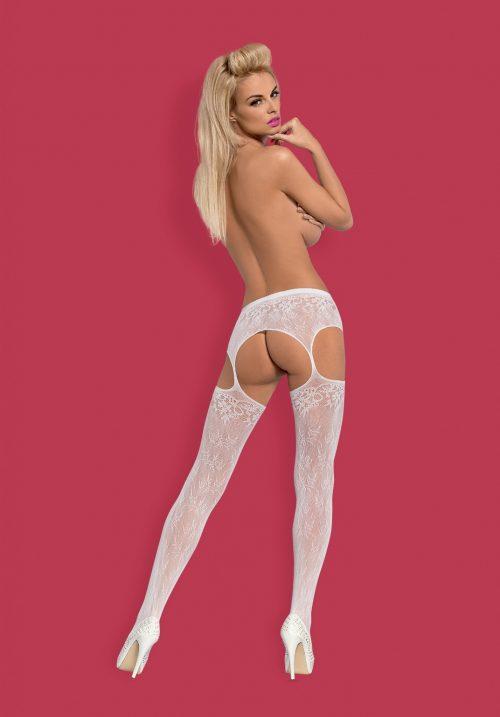 s209 white back 1 1 500x717 - Пояс с чулками Obsessive большого размера
