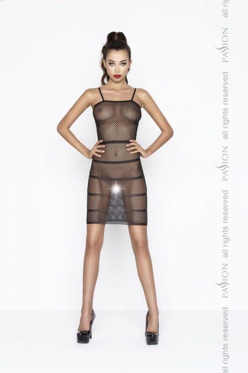 BS033 500x750 - Пленительное платье в сетку Passion