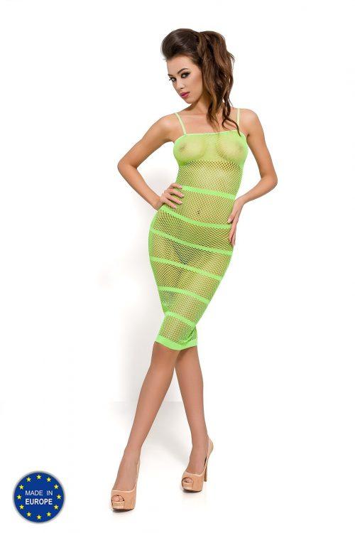 BS033G 500x750 - Пленительное платье в сетку Passion
