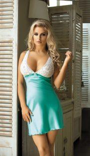 U 810 181x312 - Атласная сорочка Excellent Beauty