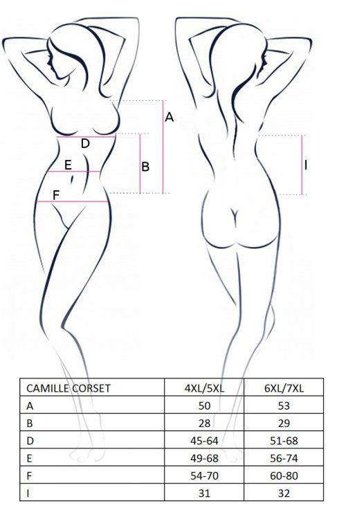 camille corset chernyy 500x750 - Корсет большого размера CAMILLE CORSET Passion
