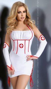 Raisa LC 181x312 - Облегающая сорочка медсестры Raisa LC
