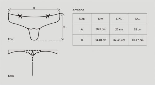 armena thong 6 500x274 - Стринги ARMENA THONG Obsessive