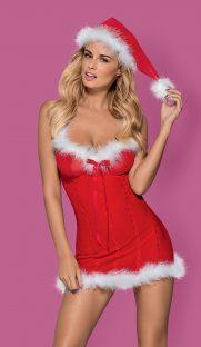 merrily chemise 1 181x312 - Новогодняя сорочка MERRILY CHEMISE  Obsessive