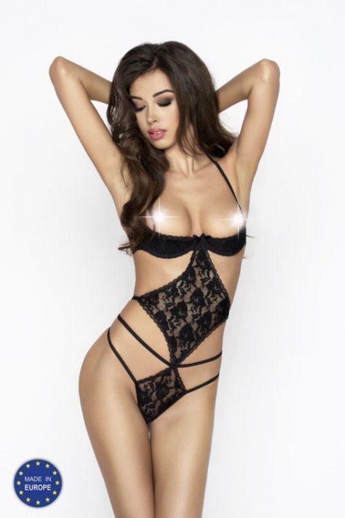 ADARA BODY 500x750 - Боди с открытой грудью ADARA BODY Passion большого размера
