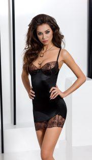 brida chemise black 181x312 - Сорочка BRIDA CHEMISE Passion