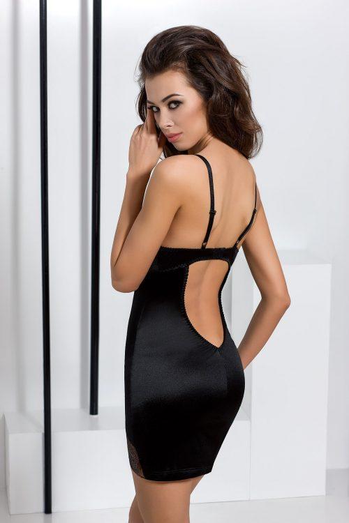 brida chemise black1 500x750 - Сорочка BRIDA CHEMISE Passion большого размера