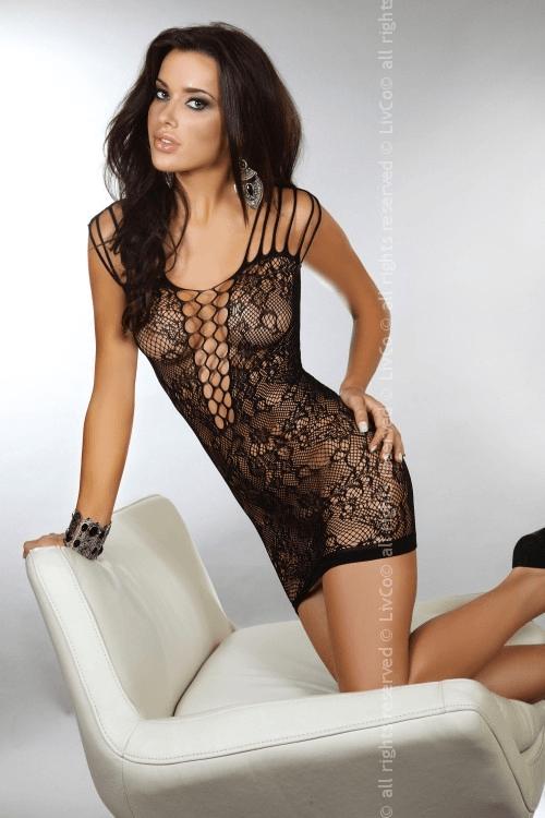 Sheetal LC 500x750 - Ажурное платье-сетка с оригинальными бретелями Sheetal LC
