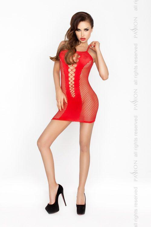 BS027 500x750 - Облегающее платье-нательная сетка BS027 Passion
