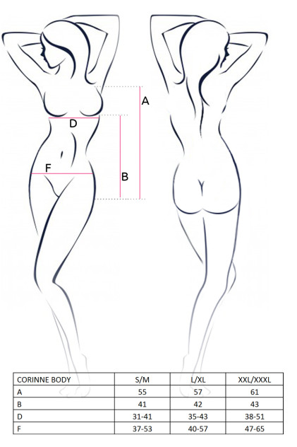 CORINNE BODY size - Боди из атласа CORINNE BODY Casmir