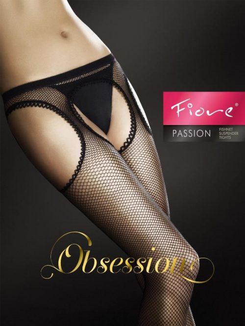 Passion 500x665 - Колготы с вырезами Passion Fiore большого размера