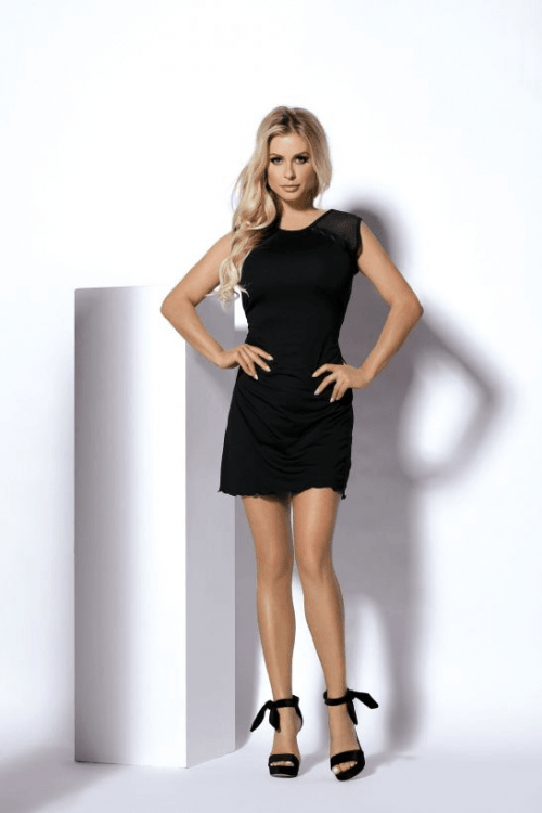 Abbie DK 500x750 - Стильное платье Abbie DK большого размера