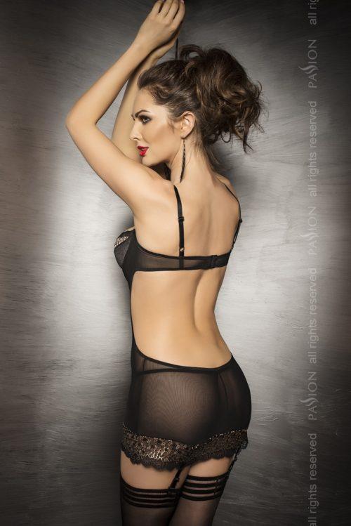 CERES CORSET  500x749 - Корсет-платье с прозрачными вставками CERES CORSET Passion
