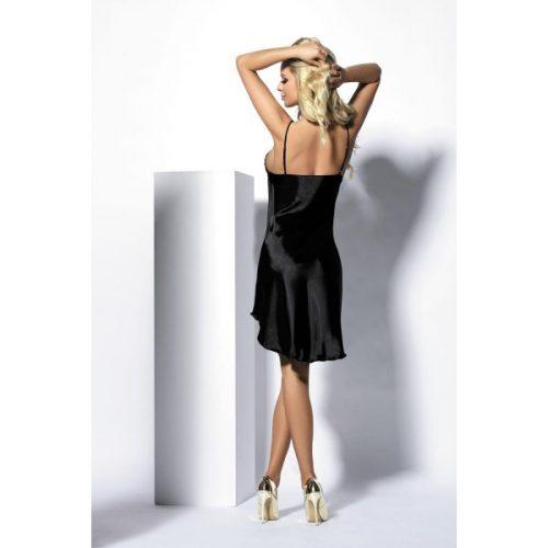 Evelyn DK 500x500 - Изящная атласная сорочка Evelyn DK большого размера