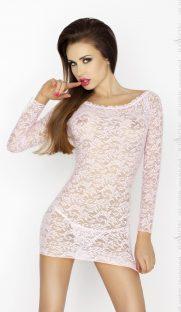 YOLANDA CHEMISE pink 181x312 - Кружевное платье с длинными рукавами YOLANDA CHEMISE
