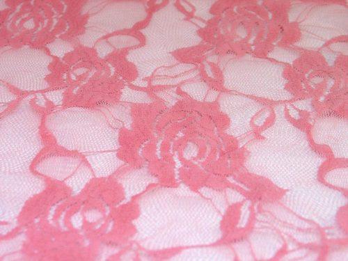 YOLANDA CHEMISE pink  500x375 - Кружевное платье с длинными рукавами YOLANDA CHEMISE