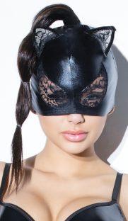 s d2245 181x312 - Игровая маска кошки с кружевом