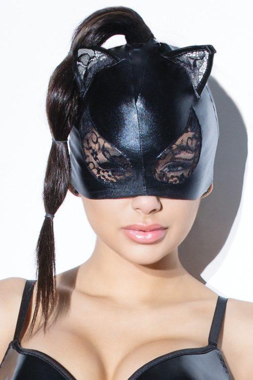 s d2245 500x750 - Игровая маска кошки с кружевом